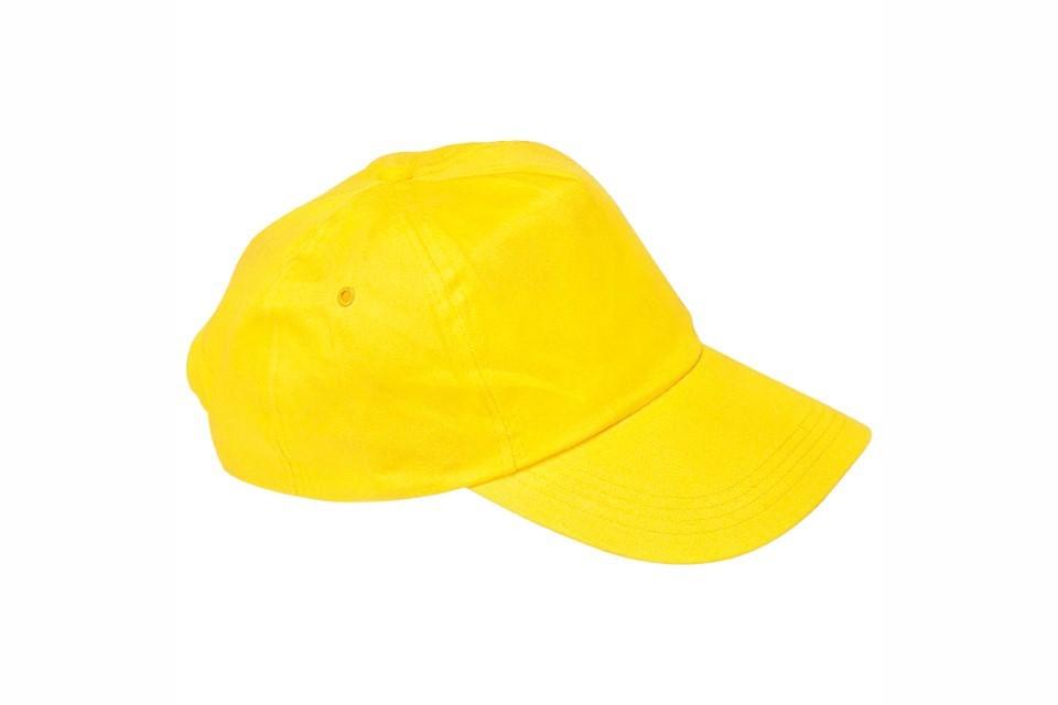 Sapca Panza Subtire galben cadouri promotionale personalizate business cadou promo oferta Afise WhiteBack